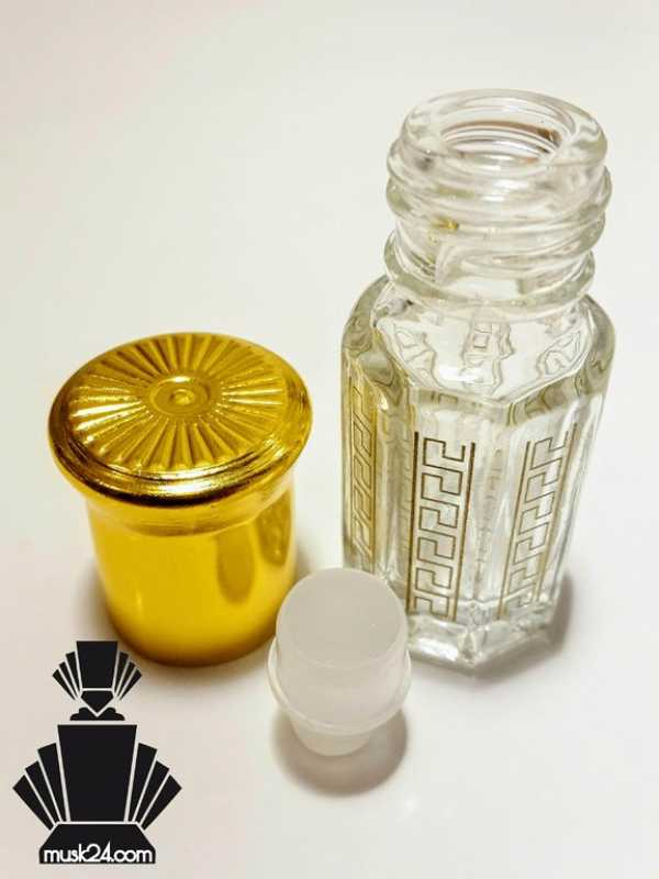 3ml empty bottle octagonal Flacon Attar/Musk RollOn | 1piece - 50pieces
