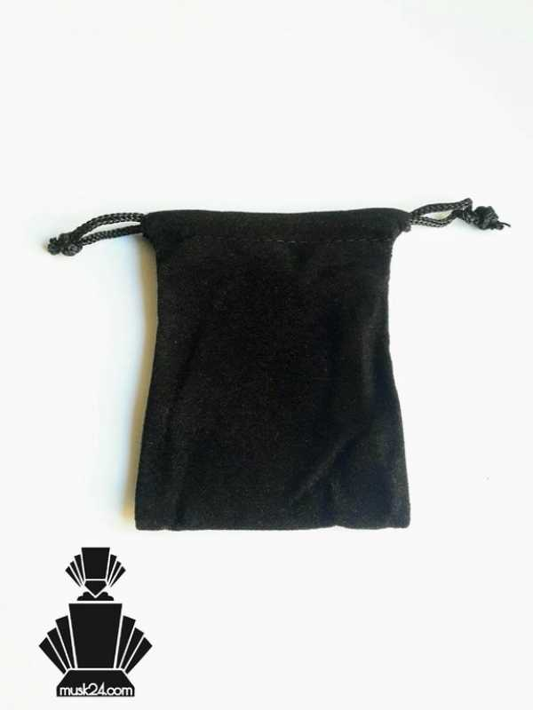 Velvet Jewelry Bag, Jute, Black | 1piece - 50pieces